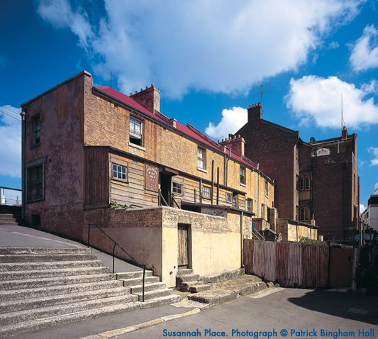 Susannah Place. Photograph (c) Patrick Bingham Hall  Wanted to visit this for ages. Price?.