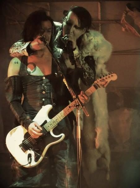 (11) marilyn manson and jeordie white | Tumblr