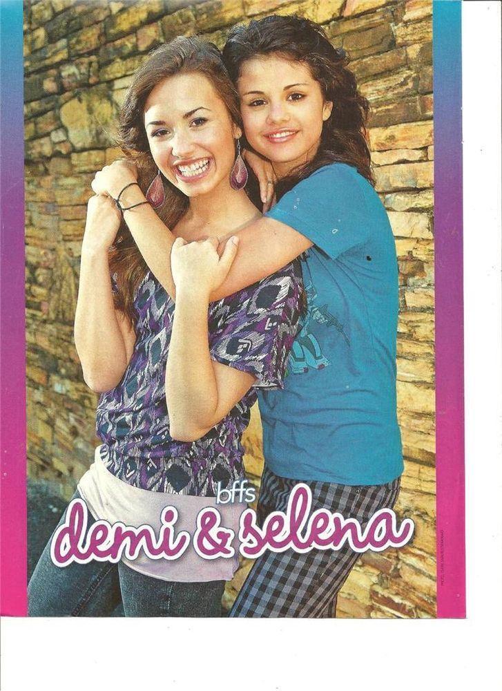 Demi Lovato and Selena Gomez, Full Page Pinup
