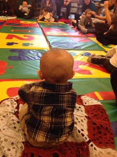 Baby Storytime adventures of the PBBC, create your own story time too.