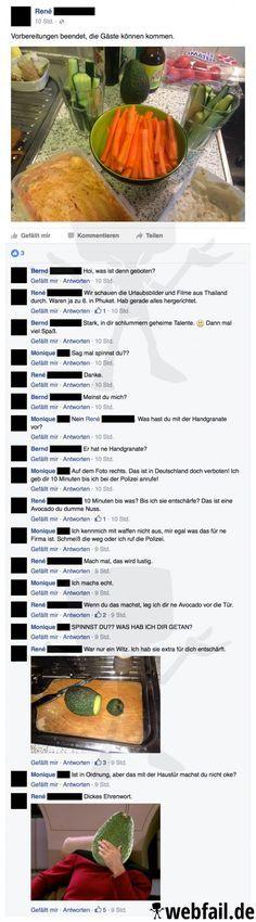 Eine explosive Entdeckung – Facebook Fail des Tages 08.04.2016