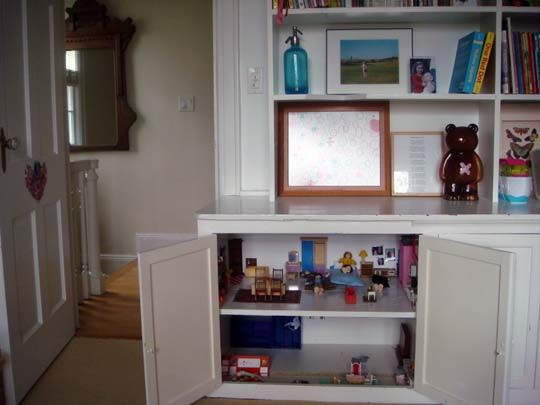 22 best doll house images on pinterest dollhouses doll for Casa delle bambole fai da te