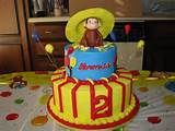 Curious George Cake, I like this because this year,April 1st, is my ...