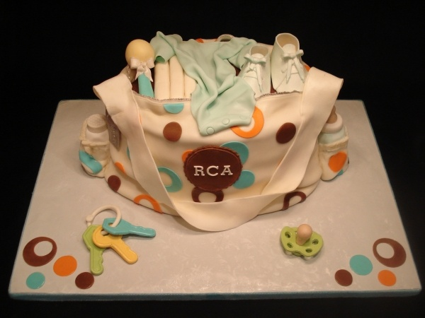 Pics Of Baby Shower Cakes