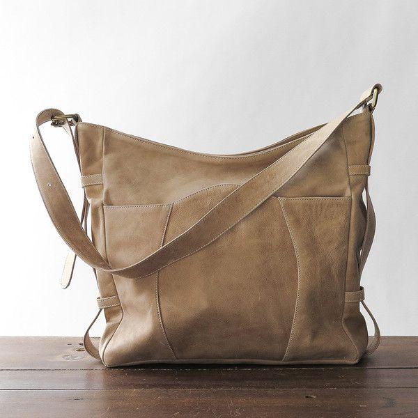leather buckle bag