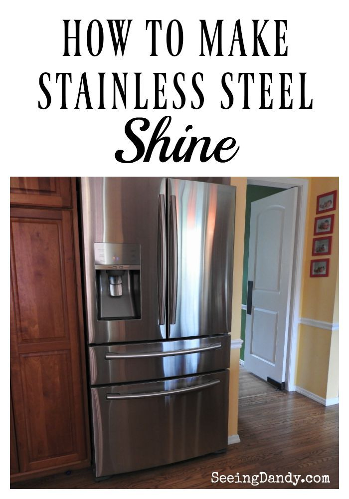 Cleaning tips that work are always dandy! I've found that this is the best way to clean stainless steel and at a fraction of the cost. Get all the details HERE on the blog!