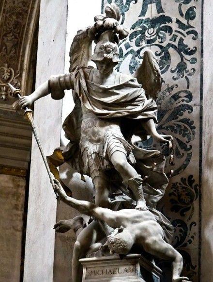 The Archangel Michael Statue