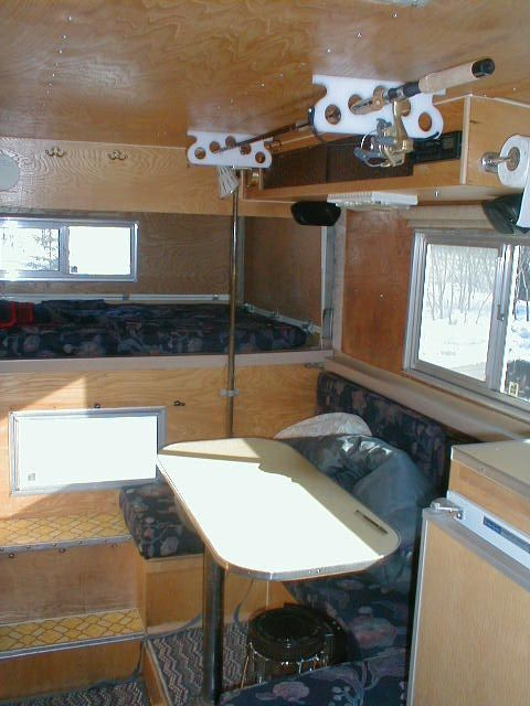 Alaskan Camper Set Up This Seems Perfect To Me Outoor