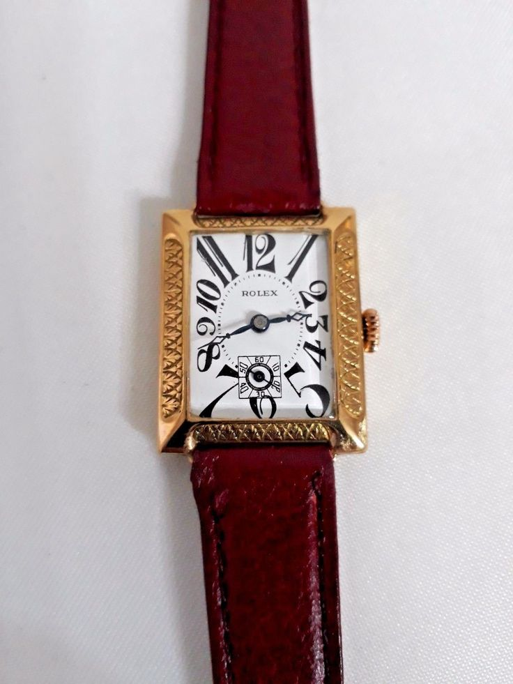 #Forsale Vintage #Rolex Art Deco Solid Gold 18k Year 1935 Manual Wind Watch - Price @$1,200.00