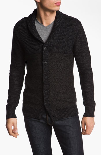 R44 Rogan Standard Issue 'Blind Side' Organic Cotton Button Cardigan available at #Nordstrom