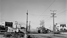 Pacific Electric interurban rubles through Playa Del Rey