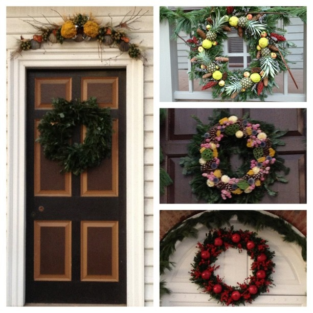 Colonial williamsburg holiday decorations by jimasher for Williamsburg home decor