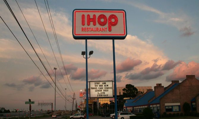 Has #IHOP always been #international san diego