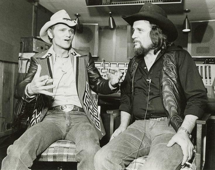 Jerry Reed & Waylon Jennings (RCA Studio B in 1983)