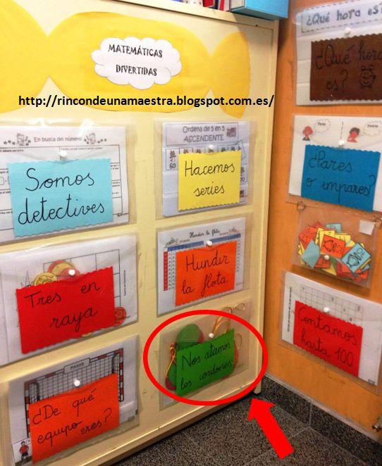 Rincón de una maestra: Matemáticas divertidas 1º