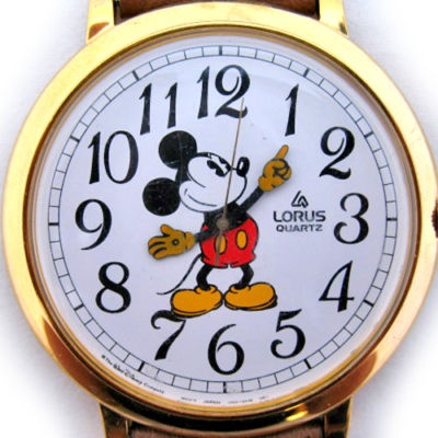 I wore my Micky Mouse Watch religiously
