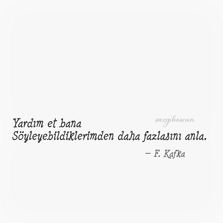 Yardım et bana. Franz Kafka #kafka #franzkafka #edebiyat #alıntı #şiirsokakta #kitap