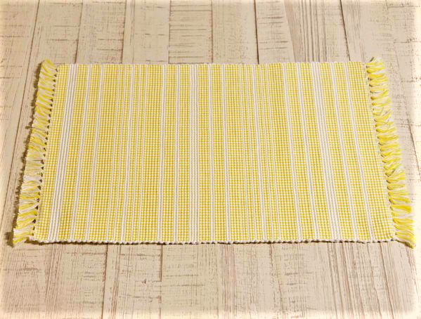 Madeline Yellow Placemat - Set of 6