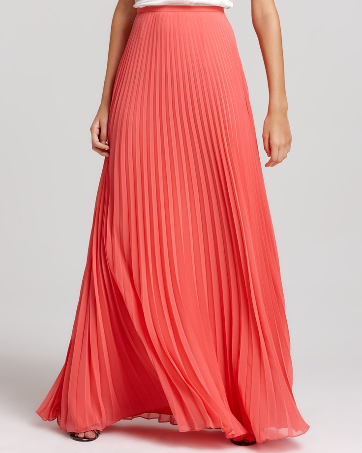 25  best ideas about Coral maxi skirts on Pinterest | Coral skirt ...