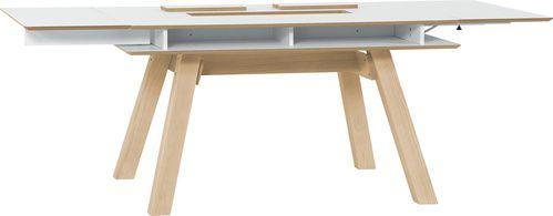 Stół rozkładany (Biały) - Stoły - Typy mebli - Meble VOX