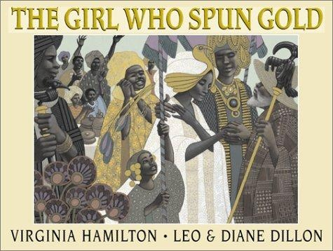 Genre: Fictional Picture Book The Girl Who Spun Gold by Virginia Hamilton  -  openlibrary.org This book is about a girl in the west indies that must spin gold in order to save her own life from an evil elf. The storyline addresses many morals that are commonly taught in young childrens lives. http://www.amazon.com/Girl-Who-Spun-Gold/dp/0590473786/ref=sr_1_1?s=books&ie=UTF8&qid=1449724844&sr=1-1&keywords=the+girl+who+spun+gold