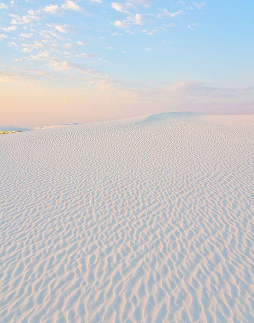 Parque Nacional de Arenas blancas, Nuevo México. ¡No dejes de viajar!