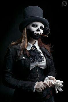 Voodoo priestess costume idea More
