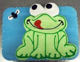 Image result for frog cake