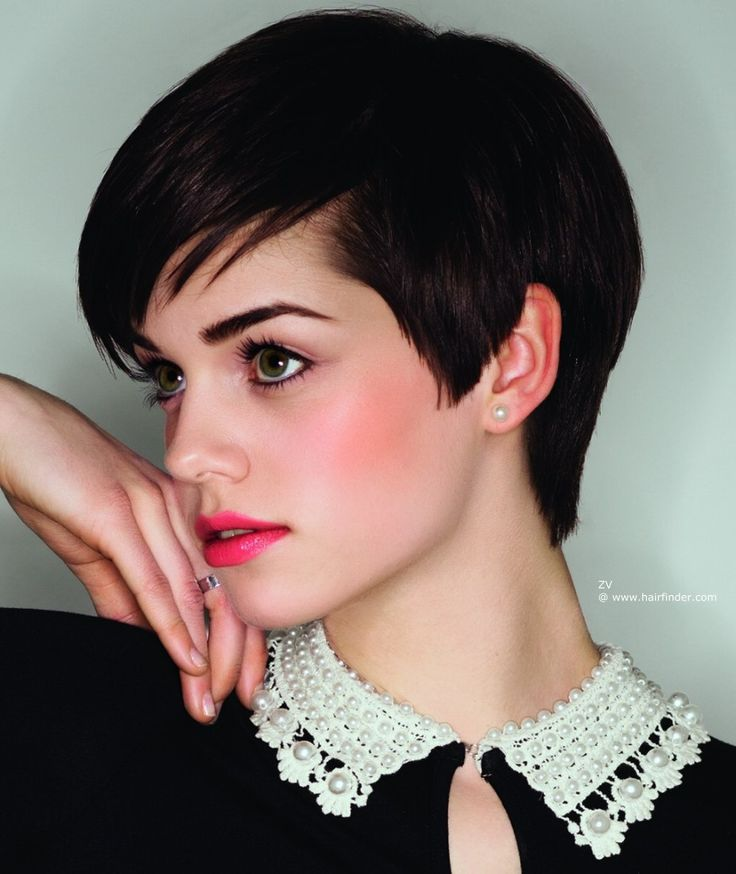 how to make a pixie cut look feminine