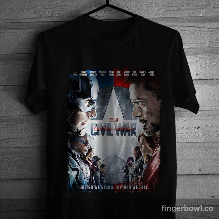 Civil War T-shirt - 110K #baju #bajukaos #bestt shirtdesign #bikinkaos #customt-shirtonline #customtee #desainkaos #designfort-shirt #designkaos #designshirt #designt-shirt #designt-shirtonline #designtees #designtshirt #designtshirtonline #gambarkaos #grosirkaos #grosirkaosmurah #hargakaos #int-shirt #jaket #jualkaos #jualkaosmurah #kaos #kaosanak #kaosbola #kaoscouple #kaosdistro #kaosdistromurah #kaoskeren #kaosmurah #kaosoblong #kaosoblongmurah #civilwar #movie