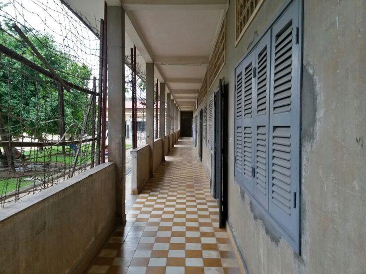 S21 Prison Phnom Penh. Cambodia.