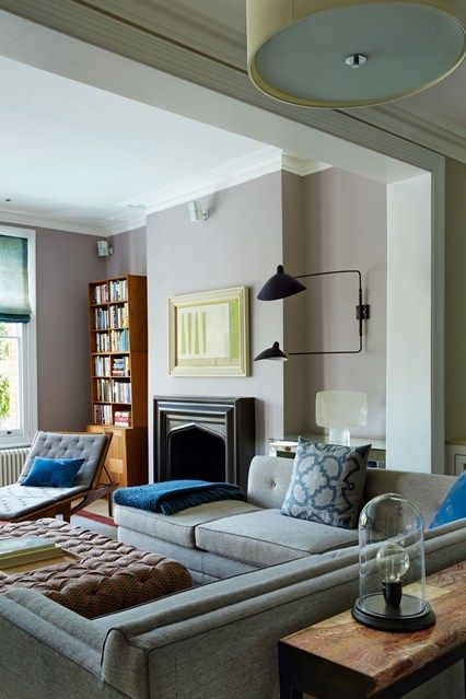 Two-Arm Wall Lighting - Living Room Ideas - Design & Decorating (houseandgarden.co.uk)