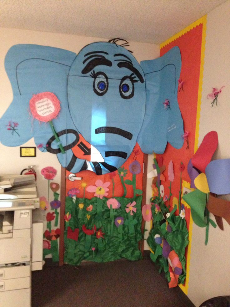 Reading Week Door Decoration Horton Hears A Who Horton