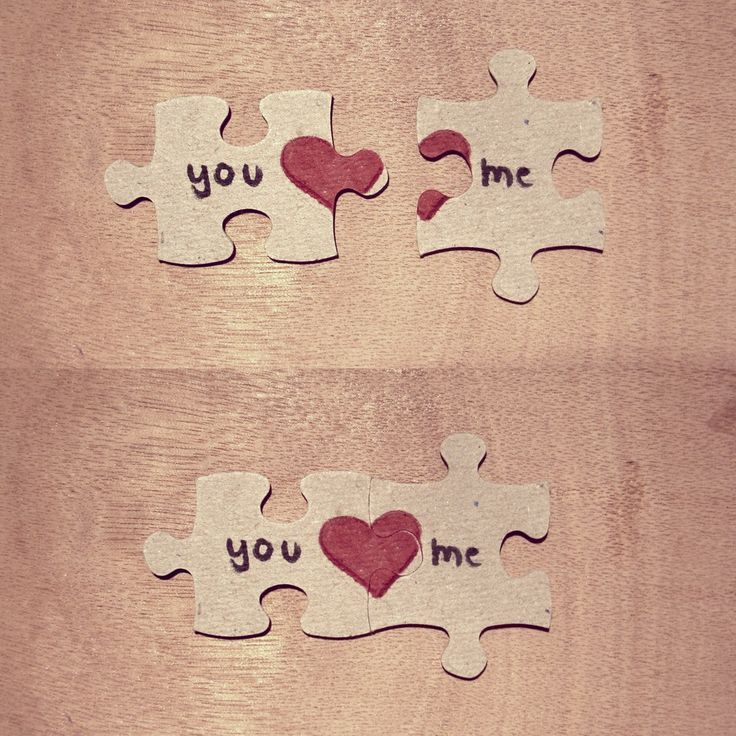 Make a puzzle note for him and make him put it together to see the note!!