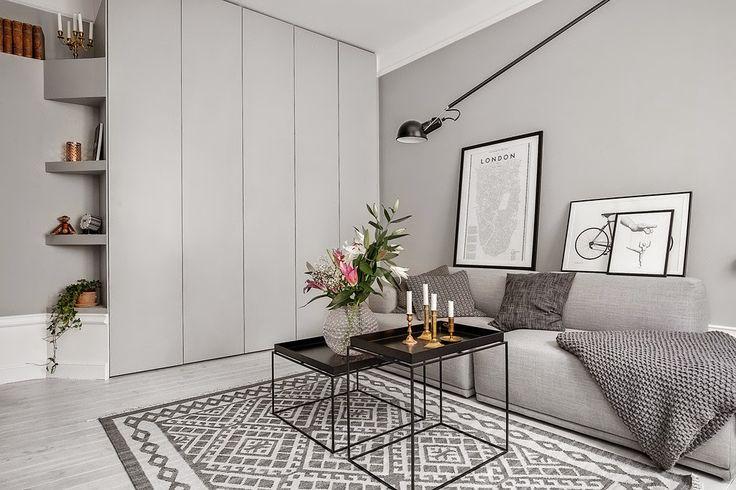 ATELIER RUE VERTE , le blog: Suède / Un appartement superbement bien aménagé /