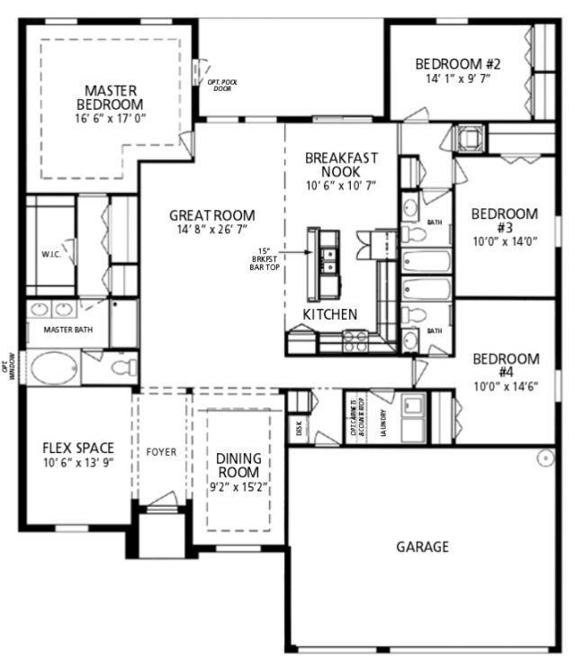 10 Pics Review Maronda Floor Plans And Description House Floor Plans Floor Plans How To Plan