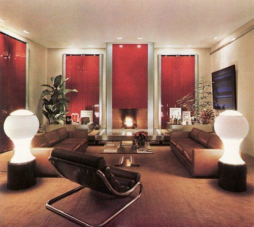 96 Best Images About Seventies Interior Design On