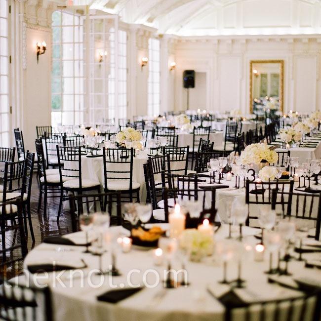 Black And White Chiavari Chairs My Dream Bedroom Wedding Dc Weddings Reception