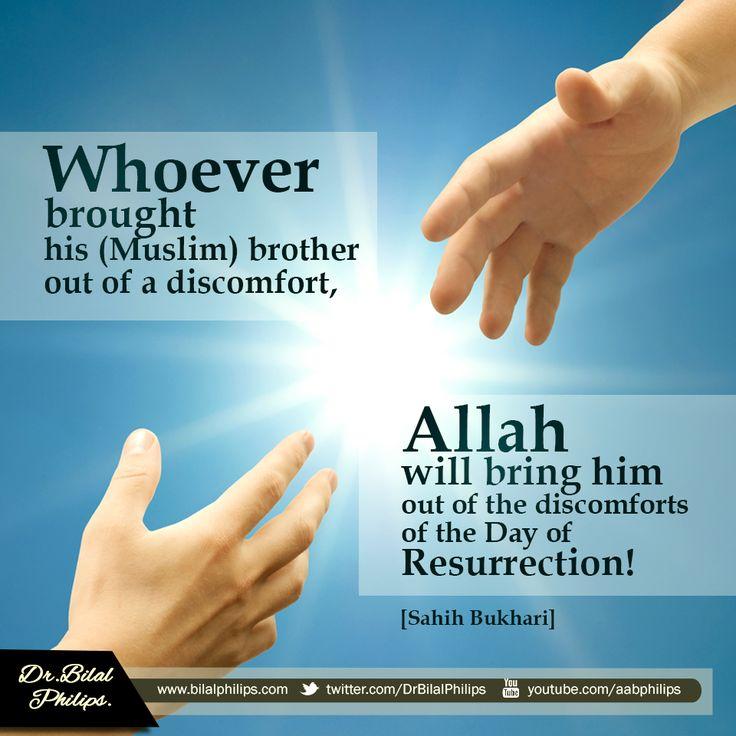 helping muslim brother