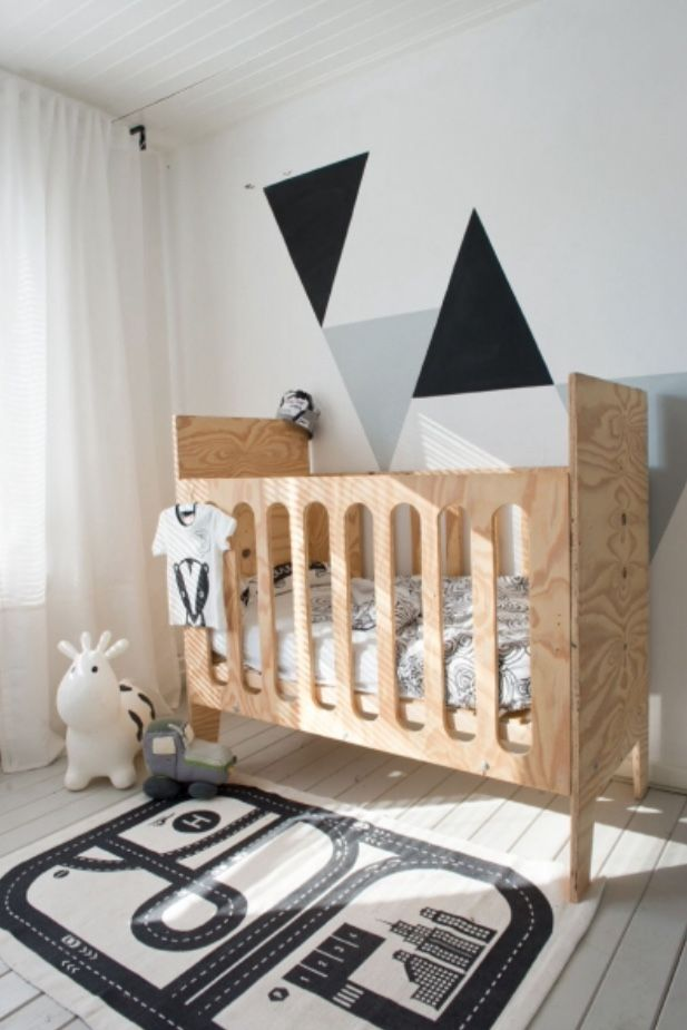 """This quirky baby room is from our feature """"Creative Stuff"""""""