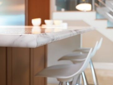 formica cut like granite  3460 Calacatta Marble with Ogee IdealEdge™ - kitchen - cincinnati - Formica Group