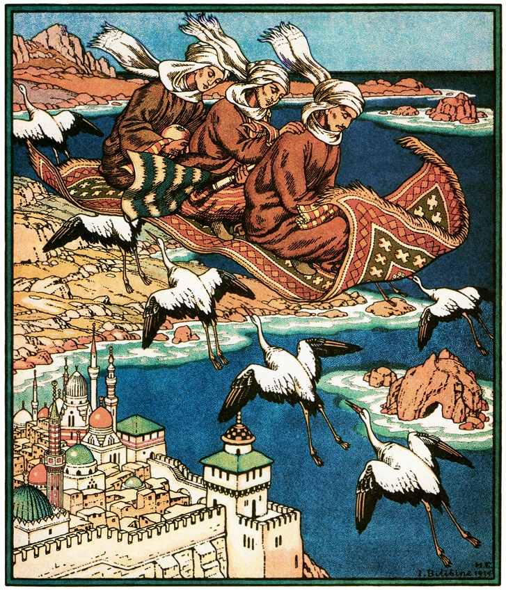 Ivan Bilibin, Magic Carpet