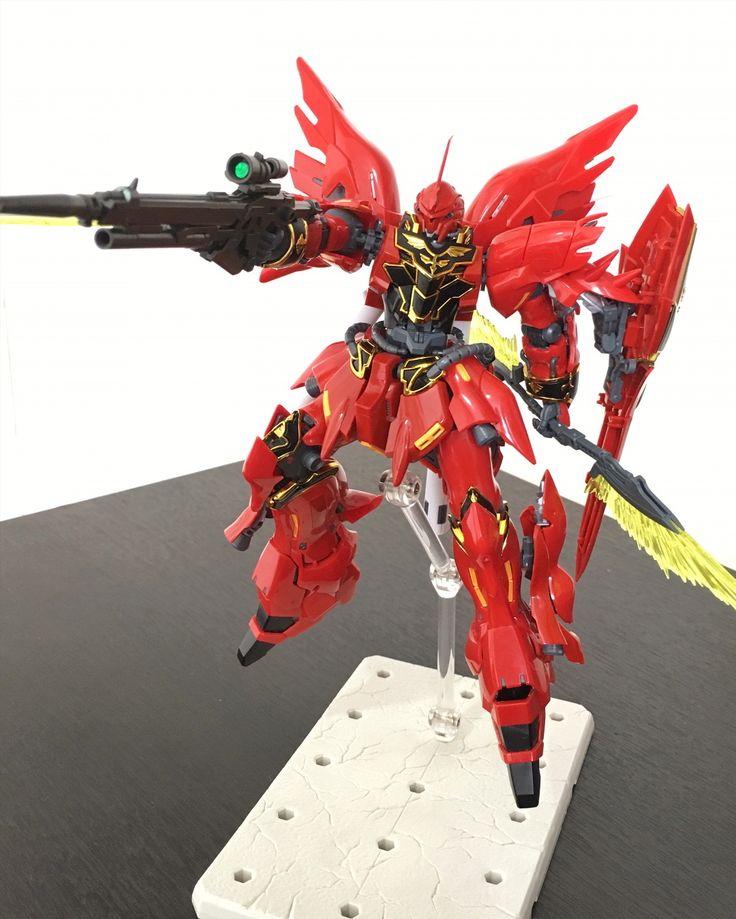 #Sinanju #MSN06S #RealGrade #gunpla #Bandai #mobilesuitgundamunicorn #Gundam
