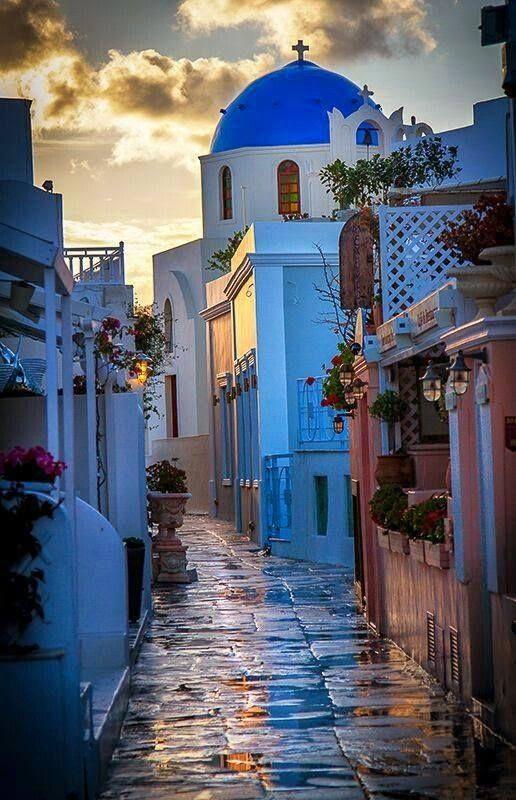 .~Santorini, Greece~. @adeleburgess