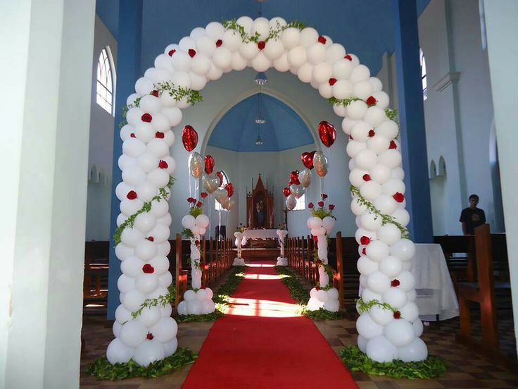 206 best images about balloon wedding on pinterest dance for Balloon decoration color combinations