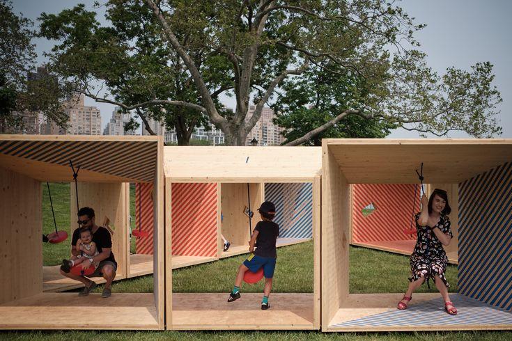 Salvage Swings City of Dreams Pavilion / Somewhere Studio