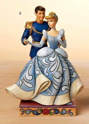 """Royal Romance"" (Jim Shore) (Part of my Cinderella collection)I have the tink one of Jim shore"