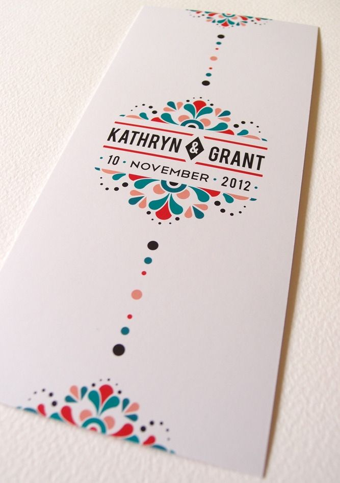 Mexican-inspired Wedding Stationery