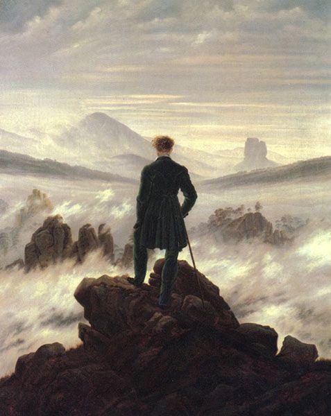 Caspar David Friedrich The wanderer