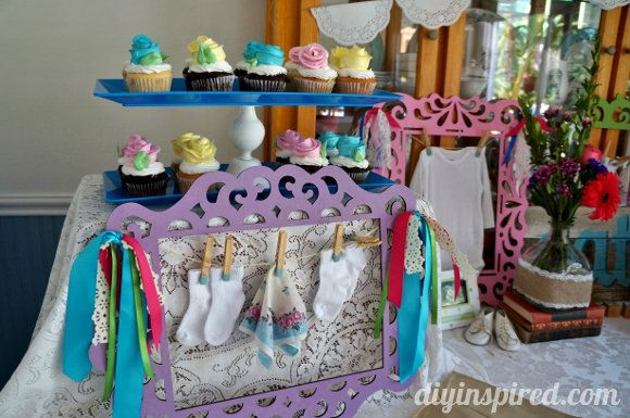 Vintage Themed Baby Shower